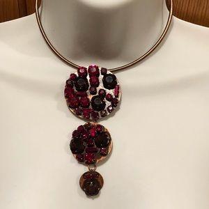 💃 💃 Swarovski Red Crystal Necklace